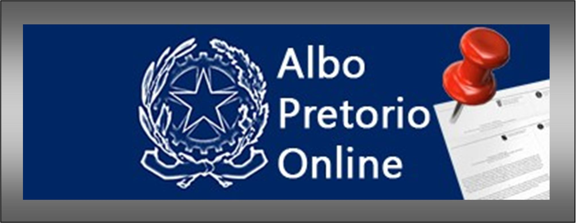 Logo Albo Pretorio on line